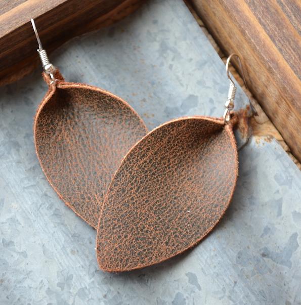 0b871389af02e0 The Best In Leather Earrings | Finch & Grain