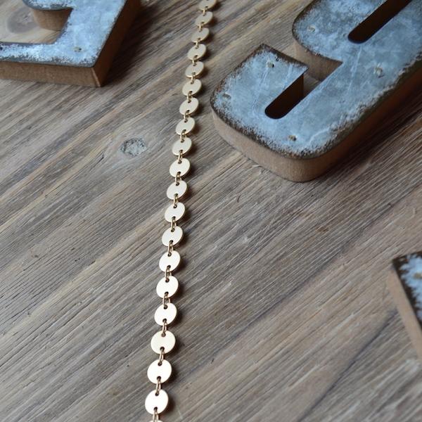 Gold Matte Necklace